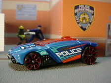 🔥 2020 HW RESCUE 🔥Design ROGUE HOG ☆blue;red trap5; POLICE☆LOOSE Hot Wheels 🔥