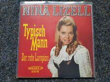 Nina Lizell - Typisch Mann/ Der rote Lampion 7'' Single