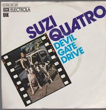 "7"" Suzi Quatro Devil Gate Drive / In The Morning (Glam Rock) RAK"