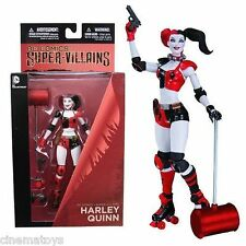 DC Batman Comics HARLEY QUINN New 52 Villain ROLLER DERBY Action Figure NOW!