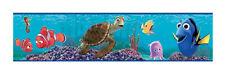 Disney FINDING NEMO prepasted WALLPAPER BORDER 1 roll 15 feet Crush fish ocean