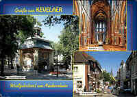 Kirchen Motiv-Postkarte Wallfahrtskirche Kirche in Kevelaer color Mehrbildkarte