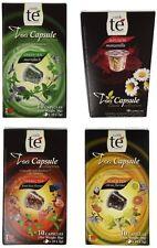 40 Nespresso Compatible Pods - Origen Tea Variety Pack: Black Citrus Tea, Marrak