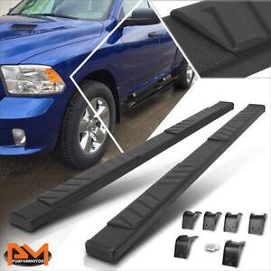 "For 09-20 Dodge RAM 1500-3500 Quad Cab 5"" Pad Side Step Nerf Bar Running Boards"