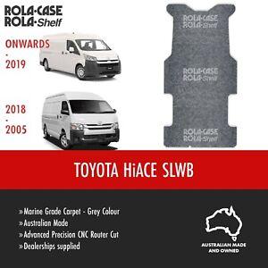 Toyota Hiace SLWB -  Genuine Van Cargo Flooring Marine Grade Carpet Computer Cut