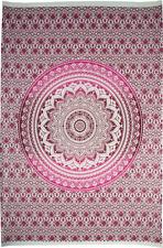 Tela pintada mandala rosa decoración de paredes muebles hogar