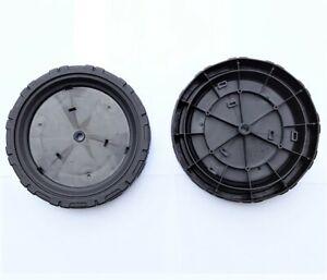 2 Stück Rad 7,5 Zoll Hinten für Makita DLM380 DLM380Z 2x18V Akku-Rasenmäher