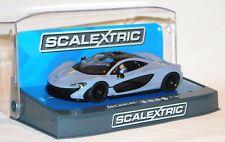 Scalextric Slot Car McLaren P1 Ceramic Grey (Art.  C3877) - Sonderpreis