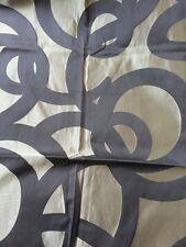 MARCATO tessuto stoffa scampolo damasco misto seta design KNOSSOS originale