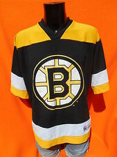 BOSTON BRUINS Jersey Maillot Trikot Allison Logo 7 USA Made Vintage NHL Hockey