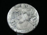 2017 GODS OF OLYMPUS - HADES - 2oz Silver Coin HIGH RELIEF ANTIQUE