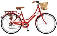 Vélos rouges avec freins en v