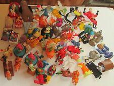 Huge lot of 60 Disney Movies character Burger King & McDonalds fast food Toys