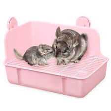 Small Pet Toilet Lightweight Plastic Animal Potty Pet Pan for Hamster Pig Rabbit