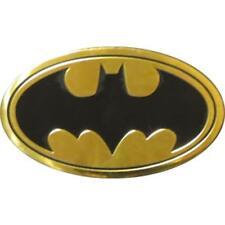 BATMAN Logo On Gold Metal Medium Sized New Sticker/Decal DC Comics super hero