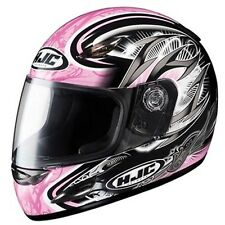 HJC Full Face Helmet Motorcycle Pink CS-Y Size Youth Large; Part #222-984
