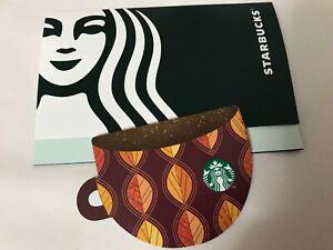 Japan Starbucks Autumn Cup Card 2020 - Pin Intact