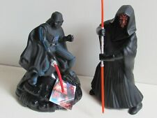 2 x Star Wars Bubble Bath Containers (Darth Maul & Darth Vader (with tag)) 1990s