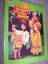 1978 Whitman- The Sunshine Fun Family Paper Dolls