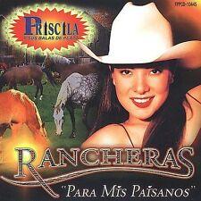 """Rancheras """"Para Mis Paisanos"""" by Priscila y Sus Balas de Plata (CD, Aug-2001,"""