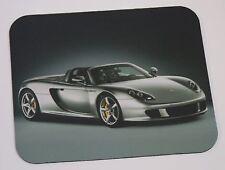 Silver Porsche Carrera GT  Mouse Pad