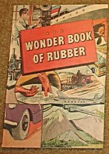Wonder Book Of Rubber 1A Rare Giveaway Promo Vg 1965 Variant B Bf Goodrich