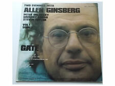 Allen Ginsberg ‎- Gate, Two Evenings With Allen Ginsberg Vol.1 Songs - LP