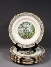 Royal Albert Silver Birch Large Dinner Plate Bone China England