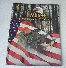 MILLETT SCOPE OPTICS c 2005 gun shooting catalog