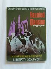 Disney Parks WDW Haunted Mansion Hitchhiking Ghosts Attraction Poster Magnet New