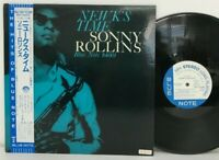 Sonny Rollins - Newk's Time LP 1984 Japan Promo Blue Note Tune Up Jazz w/ obi