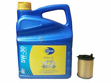 MAZDA 2 & 3 1.4 CD 1.6 DI DIESEL OIL FILTER & FULLY SYNTHETIC 5/30 ENGINE OIL 5L