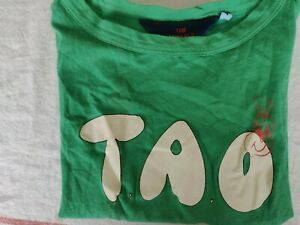 The Animals Observatory TAO Green T-Shirt. Size 4 Years.