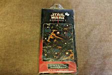 Star Wars Episode 1 Space Battle 100% Vinyl Shower Curtain 70x72 (NEW)