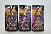 3-Pack Maybelline The Colossal Big Shot Volum'Express Mascara 225 Brownish Black