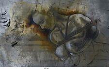 Frau,Bondage,Erotik, Bild auf Leinwand,60x100 cm /1534 Act