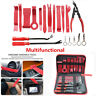 19PCS Multifunctional Trim Removal Tool Kit Repair Tool Red Car Accessories