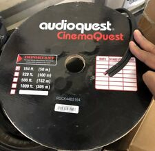 AudioQuest Rocket 44 (sold by the  foot) 13 gauge Speaker Cable Black PVC
