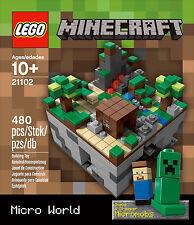Lego Minecraft Cuusoo Ideas - Lego Minecraft Microworld - 21102 New & SealedI