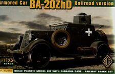 Ace 1/72 BA-20ZhD Armoured Rail Car # 72210