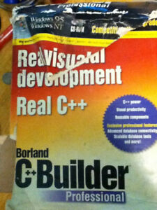 Borland C++ Builder Professional v1 complete sealed
