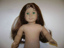 "AMERICAN GIRL DOLL HISTORICAL FELICITY 18"" RARE RETIRED NUDE EUC"