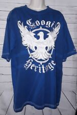 Coogi Mens Royal Blue Tshirt Size XL