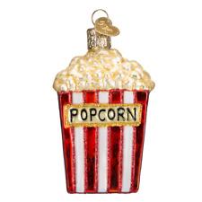 Old World Christmas Popcorn (32074)X Glass Ornament w/ Owc Box