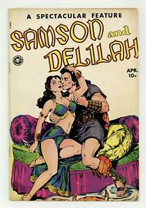 Spectacular Feature Magazine Samson and Delilah #11 GD/VG 3.0 1950