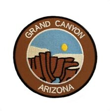 Grand Canyon Arizona Patch Embroidered Iron on Badge Trek Souvenir National Park