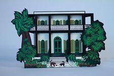 Shelia's Hemmingway Museum (Key West, Florida) Fl 2001 Wooden House Figure