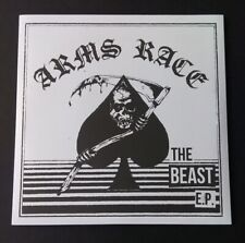 """Arms Race The Beast 7"""" New Hardcore Punk Warthog Rat Cage"""