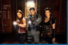 Resident Evil Afterlife Cast Milla Jovovich Movie Poster