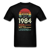 Vintage retro 1984 Birthday The man The myth Funny Classic T-Shirt